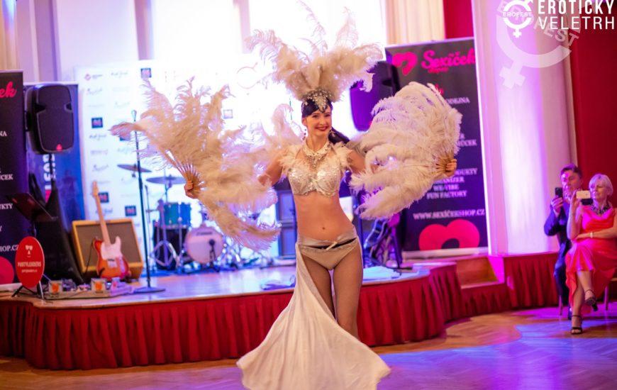 Zábavné a zároveň lechtivé: Burlesque show v podání Jany Mareškové